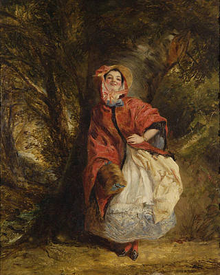 Dolly Vardon Poster by William Powell Frith