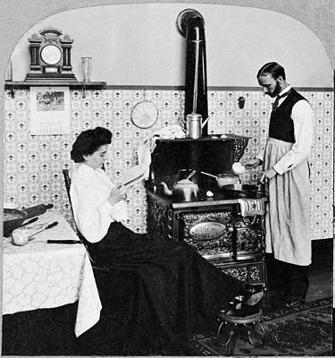 Domestic Couple, C1903 Poster by Granger