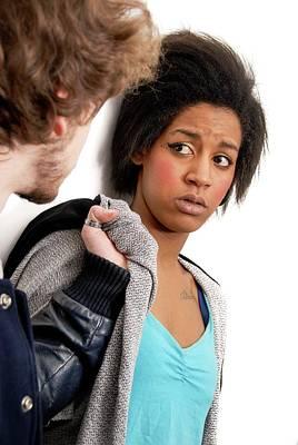 Domestic Violence Poster by Aj Photo