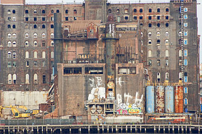 Domino Sugar Building Poster