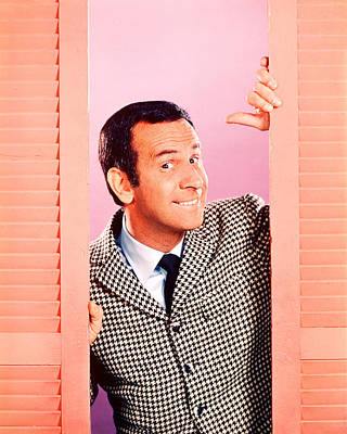 Don Adams In Get Smart  Poster by Silver Screen