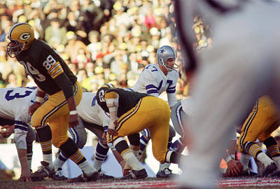 Don Meredith Cowboy Poster by Retro Images Archive