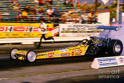 Don The Snake Prudhomme Hot Wheels Top Fuel Dragster Poster by Howard Koby