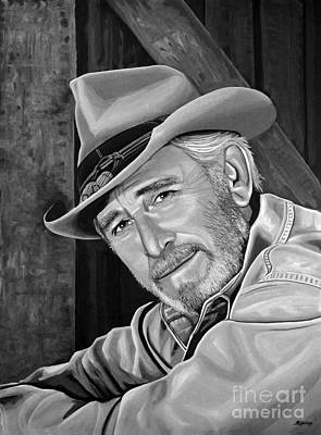 Don Williams Poster by Meijering Manupix