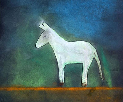 Donkey, 2011 Oil On Canvas Poster by Roya Salari