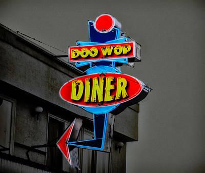 Doo Wop Diner - Wildwood Nj Poster