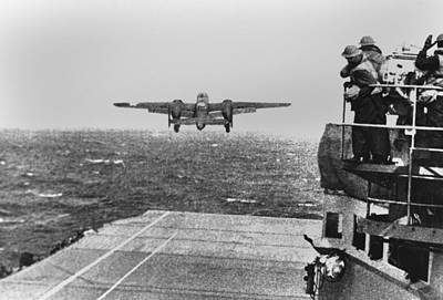 Doolittle Raid, April 18, 1942. An Army Poster by Everett