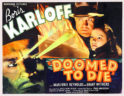 Doomed To Die Poster by Studio Release