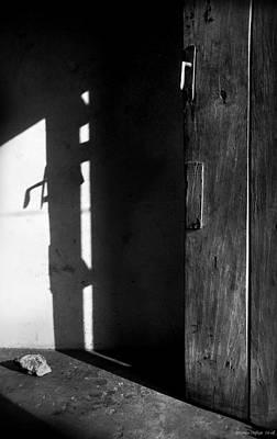 Door In Silhouette  Poster