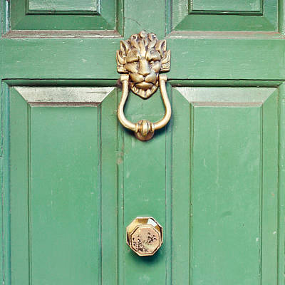 Door Knocker Poster by Tom Gowanlock