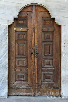 Door Of The Topkapi Palace - Istanbul Poster by Christiane Schulze Art And Photography