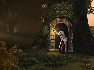 Door To The Underworld Poster