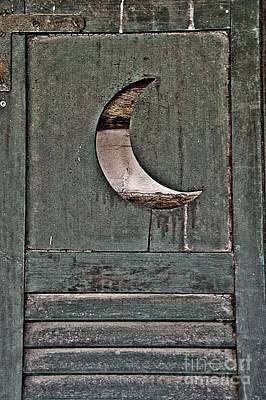 Door With The Crescent Moon Poster by JW Hanley