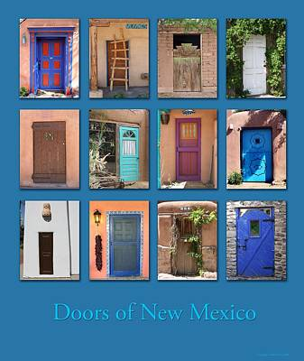 Doors Of New Mexico Poster