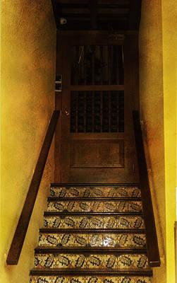 Doorway In Old San Juan Poster by Judy Hall-Folde