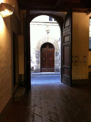 Doorways In Italy Poster