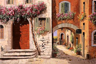 Doppia Casa Poster by Guido Borelli