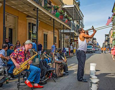 Doreen's Jazz New Orleans Poster by Steve Harrington