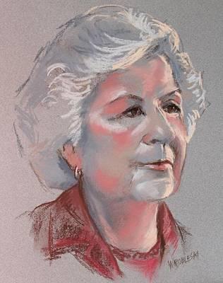Doris Poster by Peggy Wrobleski