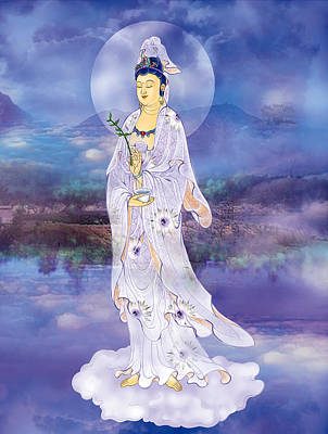 Doro Guanyin Poster by Lanjee Chee