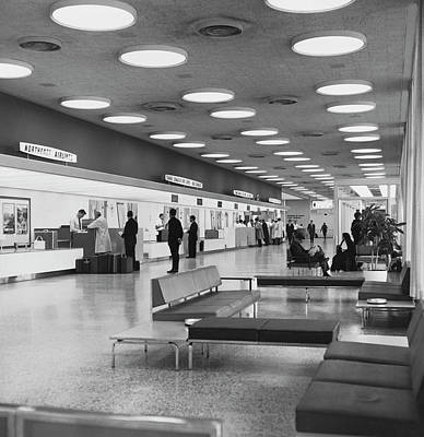 Dorval International Airport Poster by Underwood Archives