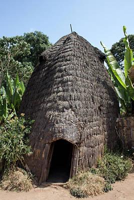 Dorze Tribe In Ethiopia Poster