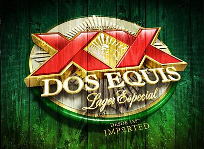 Dos Equis Barn Poster by Dan Sproul