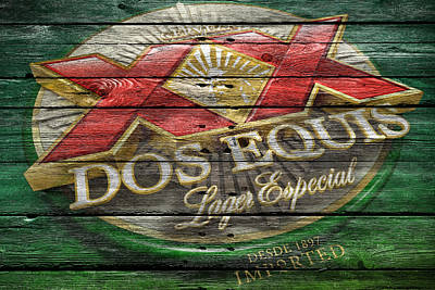 Dos Equis Poster by Joe Hamilton