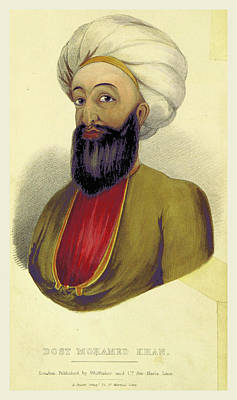 Dost Mohamed Khan, A Personal Narrative Of A Visit To Ghuzni Poster by Litz Collection