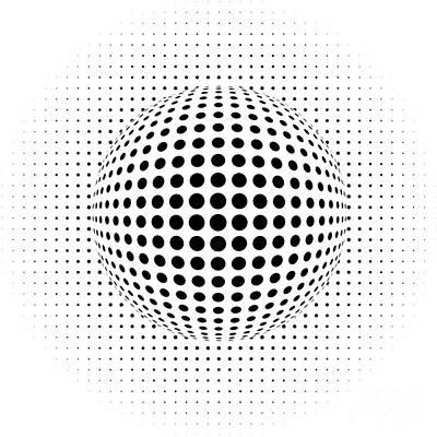 Dots Poster by Michal Boubin