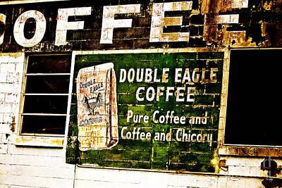 Double Eagle Coffee Poster by Scott Pellegrin