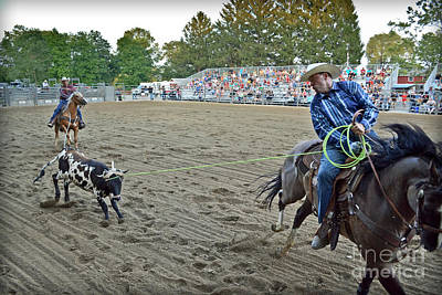 Double Team Ropers Poster