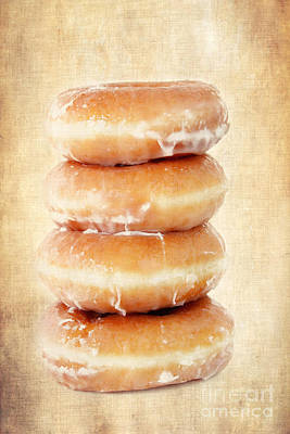 Doughnuts Poster by Darren Fisher