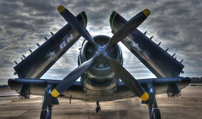 Douglas A1- E Skyraider Poster