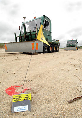 Dounreay Beach Radiation Monitoring Poster