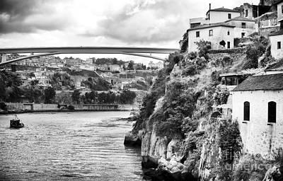 Douro River Landscape Poster