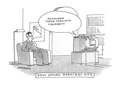 Dow Jones' Greatest Hits Poster by Mick Stevens