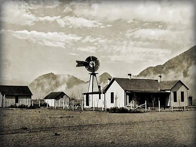 Down On The Farm Poster by Susan Leggett