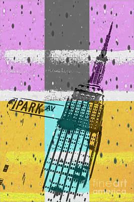 Down Park Av Poster by Az Jackson