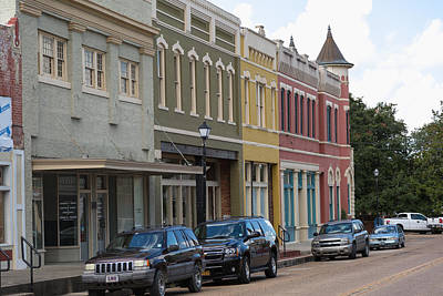Downtown Abbevile Louisiana Poster by Gregory Daley  PPSA