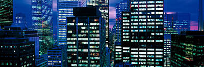 Downtown Buildings Toronto Ontario Poster by Panoramic Images