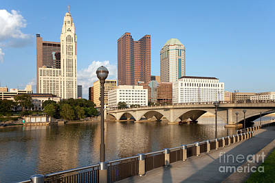 Downtown Columbus Ohio Skyline Poster