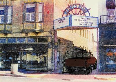 Downtown Poster by David Honaker