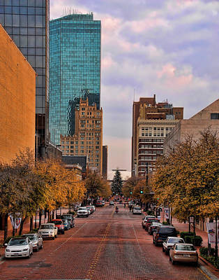 Downtown Fort Worth Texas  Poster