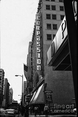 Poster featuring the photograph Downtown La - Mid '70's by Doc Braham