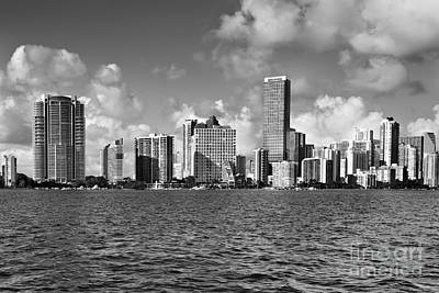 Downtown Miami Poster by Eyzen M Kim