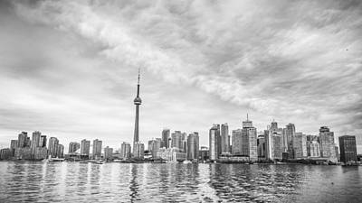 Poster featuring the photograph Downtown Toronto Skyline by Anthony Rego