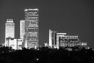 Downtown Tulsa Oklahoma Poster