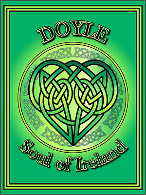 Doyle Soul Of Ireland Poster