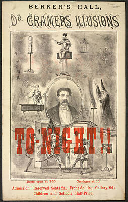 Dr Cramers Illusions Poster by British Library